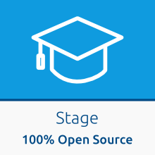 stage 100% Open Source